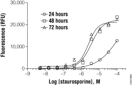 Cytotoxicity is concentration- and exposure period-dependent.